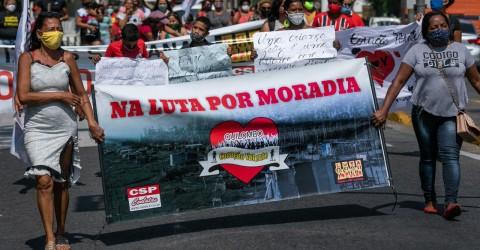Famílias do Coração Valente exigem que prefeito de Jacareí garanta moradia