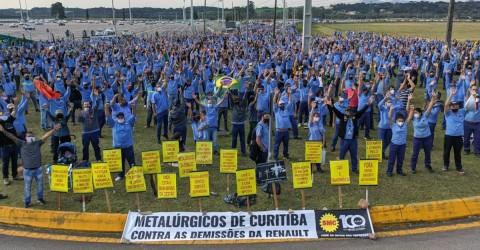 Justiça anula demissões na Renault e exige reintegração dos trabalhadores