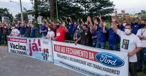 Metalúrgicos defendem pressão popular contra fechamento da Ford