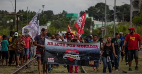 Quilombo Coração Valente realiza nesta quarta-feira passeata por moradia em Jacareí