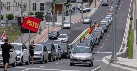 Carreata pelo Fora Bolsonaro e vacina para todos volta às ruas de São José