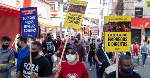 Greve dos trabalhadores da MWL continua por preservação de empregos e direitos